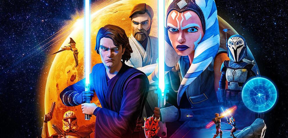 Star Wars: The Clone Wars Staffel 7 (Key Visual)