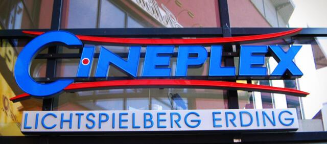 Das Cineplex LichtSPIELBERG in Erding