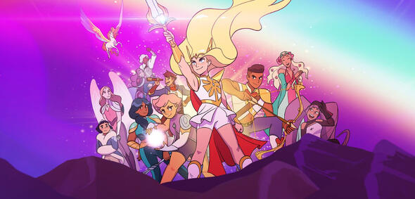 She-Ra und die Rebellen-Prinzessinnen (Key-Art)