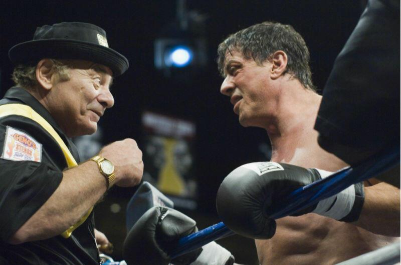 Rocky Balboa mit Sylvester Stallone und Burt Young