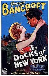 Die Docks von New York - Poster