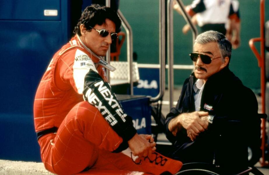 Driven mit Sylvester Stallone und Burt Reynolds