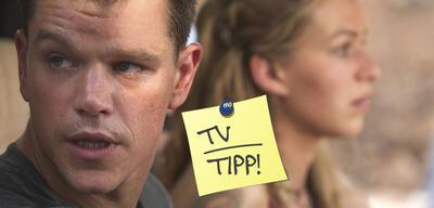 Matt Damon und Franka Potente in Die Bourne Verschwörung