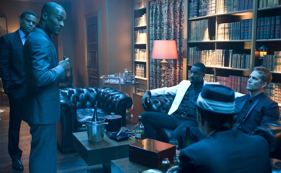 Takers mit Paul Walker, Idris Elba, Hayden Christensen, Michael Ealy und T.I.