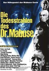 Die Todesstrahlen des Dr. Mabuse - Poster