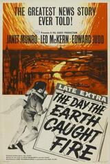 Der Tag, an dem die Erde Feuer fing - Poster