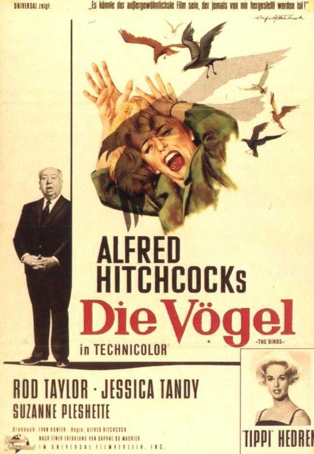 S Vintage Horror Movie Poster