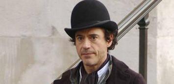Bild zu:  Robert Downey jr. als Sherlock Holmes
