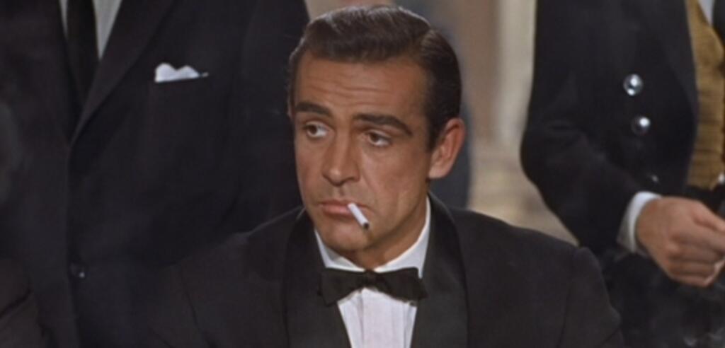 Sean Connery als James Bond in Dr. No