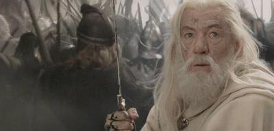 Ian McKellen als Gandalf