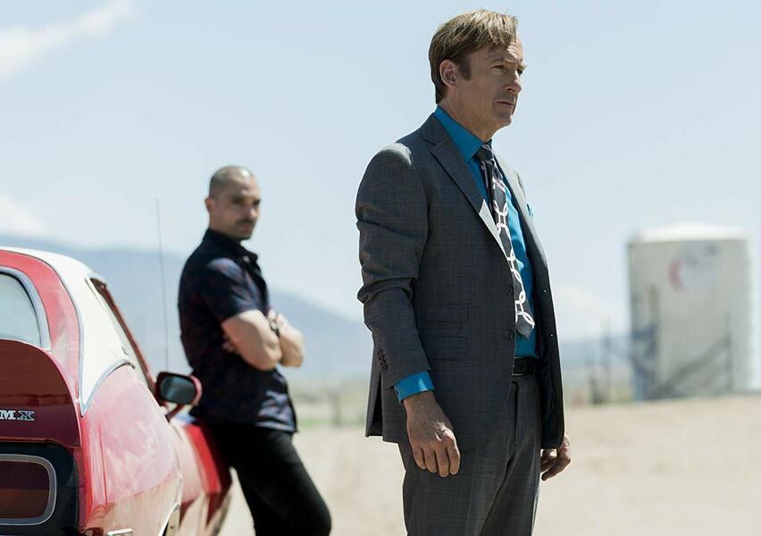 Better Call Saul - Staffel 5, Better Call Saul mit Bob Odenkirk und Michael Mando