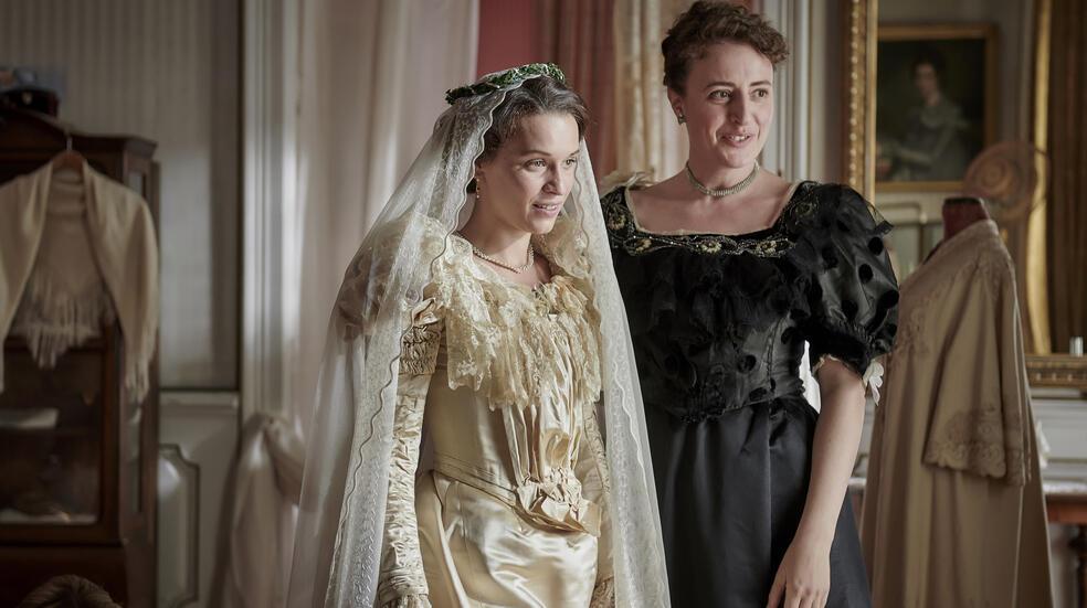 Ottilie von Faber-Castell mit Maren Eggert und Kristin Suckow
