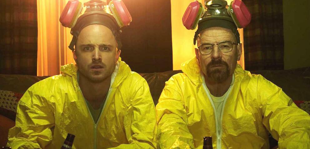 Jesse und Walter in Breaking Bad