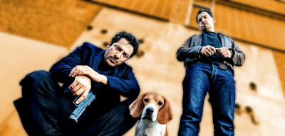 Fahri Yardim und Felix Kramer in Dogs of Berlin