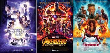 Bild zu:  Ready Player One, Avengers 3: Infinity War, Deadpool 2