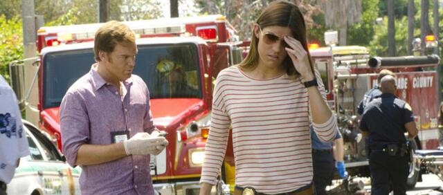 Haben in Folge 9 wieder alle Hände voll zu tun: Dexter und Debra Morgan.