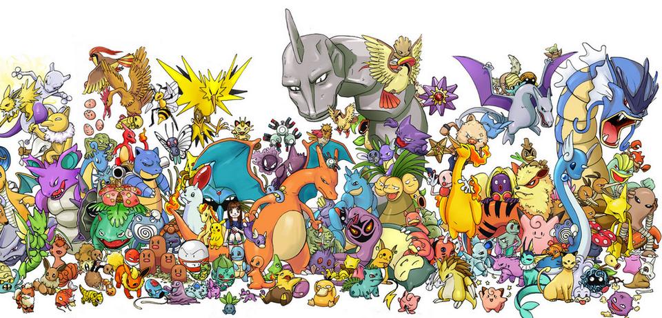 Pokémon der ersten Generation
