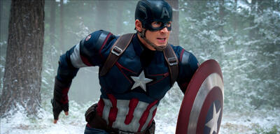 Chris Evans als Captain America in Marvel's The Avengers 2: Age of Ultron