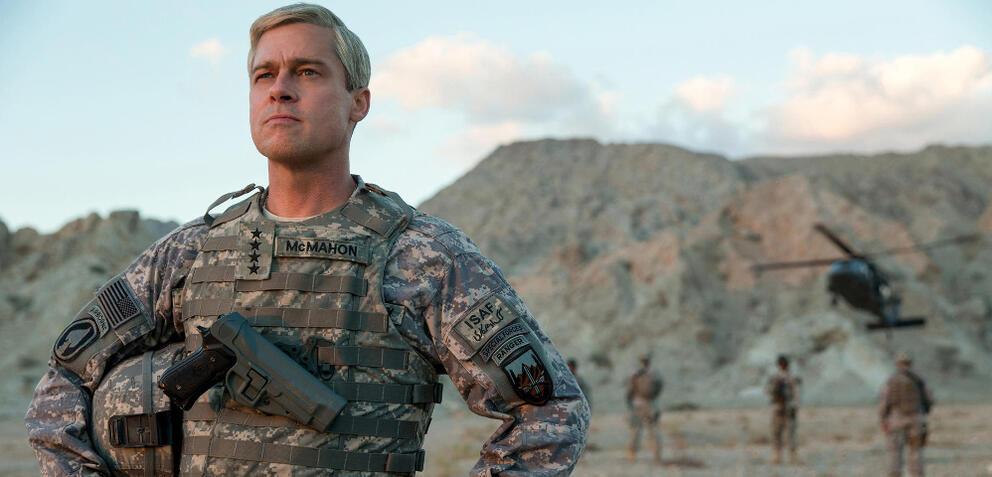 War Machinemit Brad Pitt