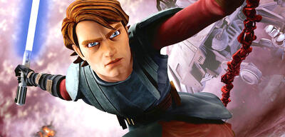 Anakin in Star Wars: The Clone Wars