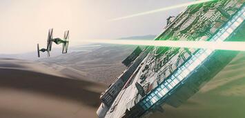 Bild zu:  Im Teaser zu Star Wars: Episode VII wird scharf geschossen