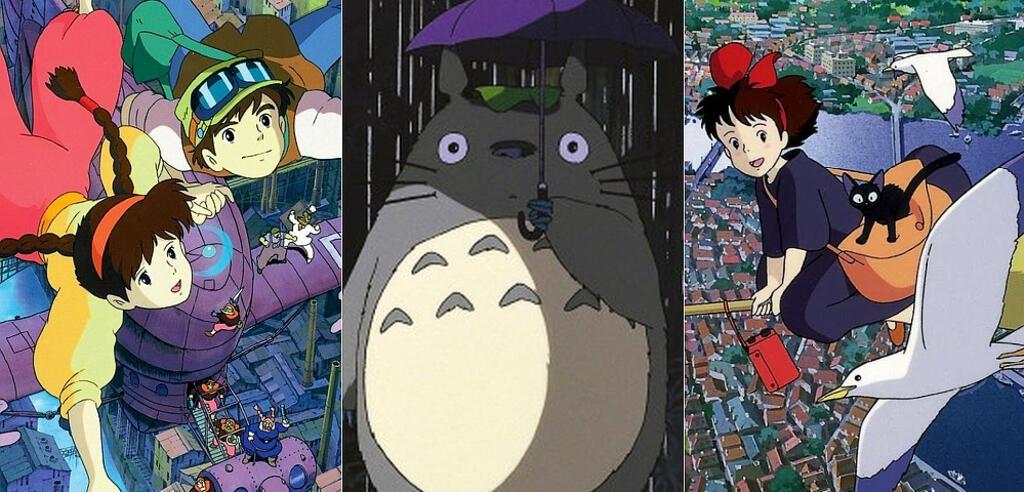 Sheeta, Pazu, Totoro und Kiki