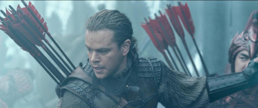 The Great Wall mit Matt Damon