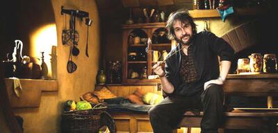 Peter Jackson in Bilbos Wohnung