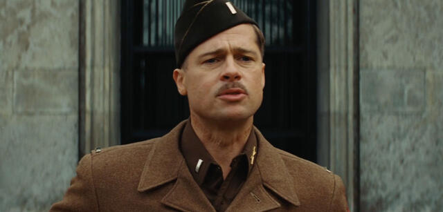 Brad Pitt in Inglourious Basterds