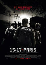 The 15:17 to Paris  - Poster