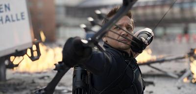 Hawkeye in The First Avenger: Civil War