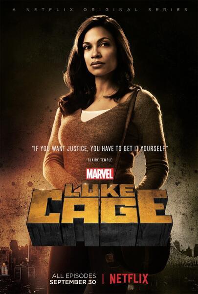 Marvel's Luke Cage, Marvel's Luke Cage Staffel 1 mit Rosario Dawson