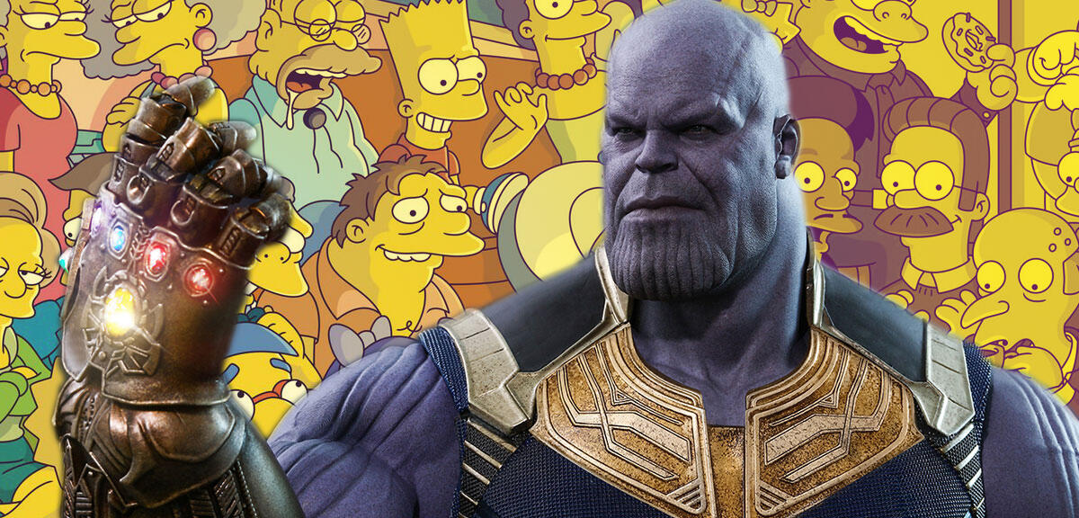 MCU-Chef veralbert Avengers: Thanos tritt bei den Simpsons auf