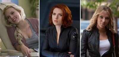 Scarlett Johansson in Er steht einfach nicht auf dich, Marvel's The Avengers und Don Jon