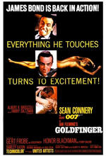 James Bond 007 - Goldfinger Poster