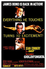 James Bond 007 - Goldfinger - Poster