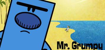Bild zu:  Mr. Grumpy hat schlechte Laune. Immer.