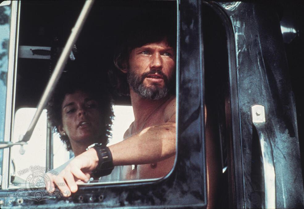 Convoy mit Kris Kristofferson und Ali MacGraw