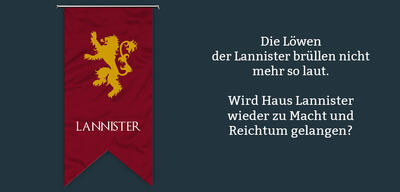 Haus Lannister in Game of Thrones