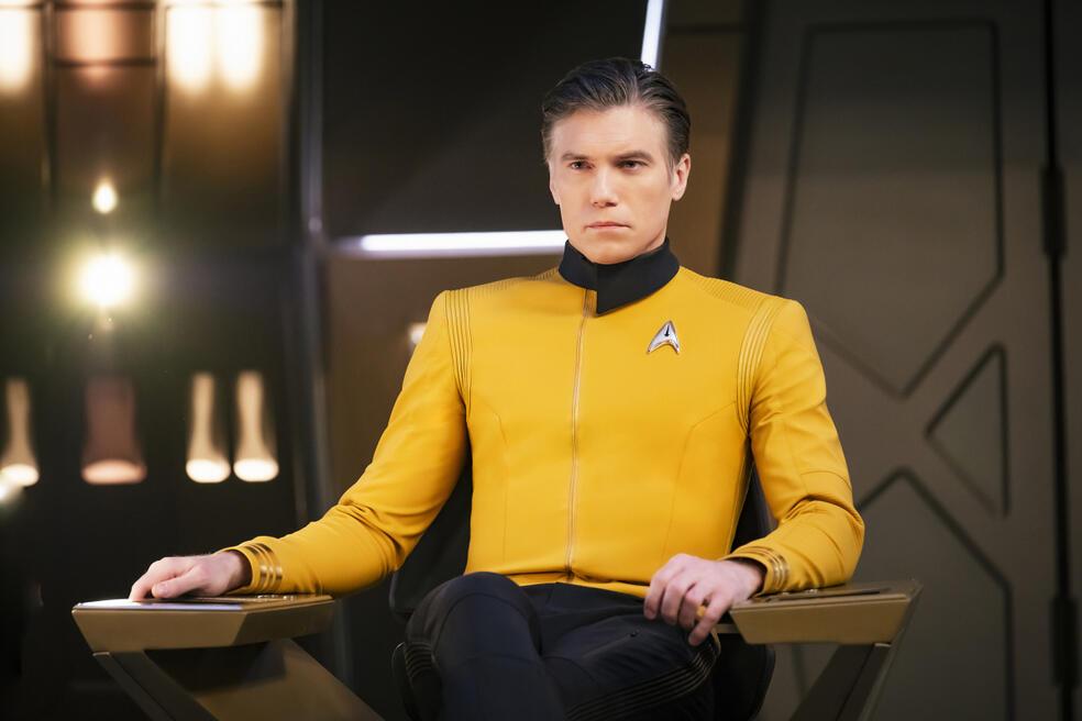 Star Trek: Discovery - Staffel 2, Star Trek: Discovery - Staffel 2 Episode 1 mit Anson Mount