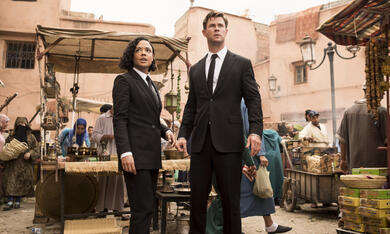Men in Black: International mit Chris Hemsworth und Tessa Thompson - Bild 4