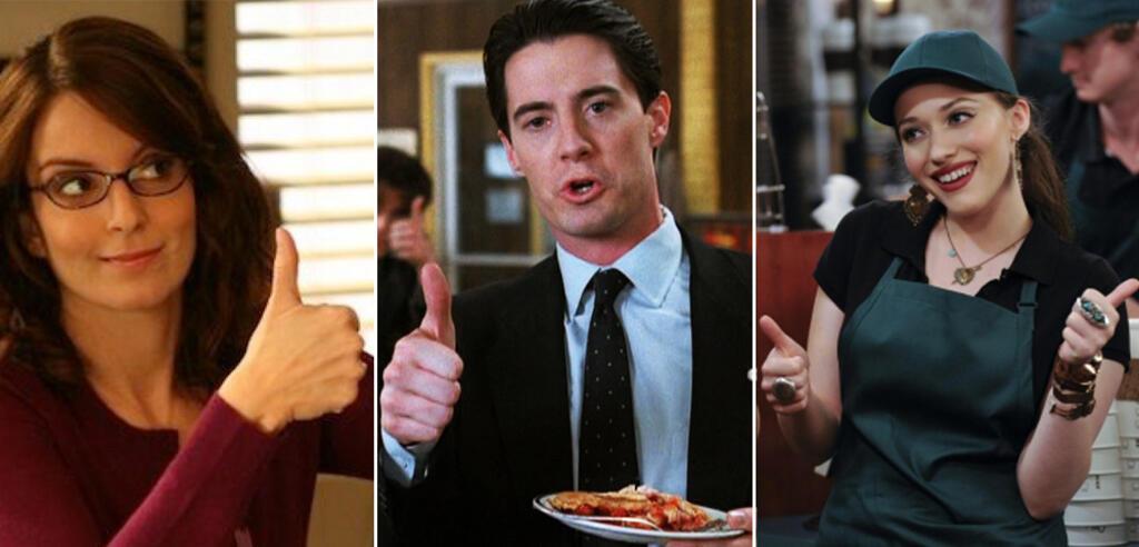 Serienbewertung: Daumen hoch für 30 Rock, Twin Peaks, 2 Broke Girls