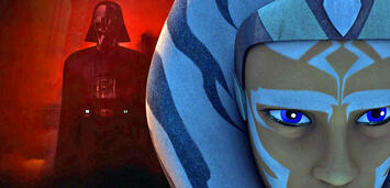 Bild zu:  Ahsoka und Darth Vader