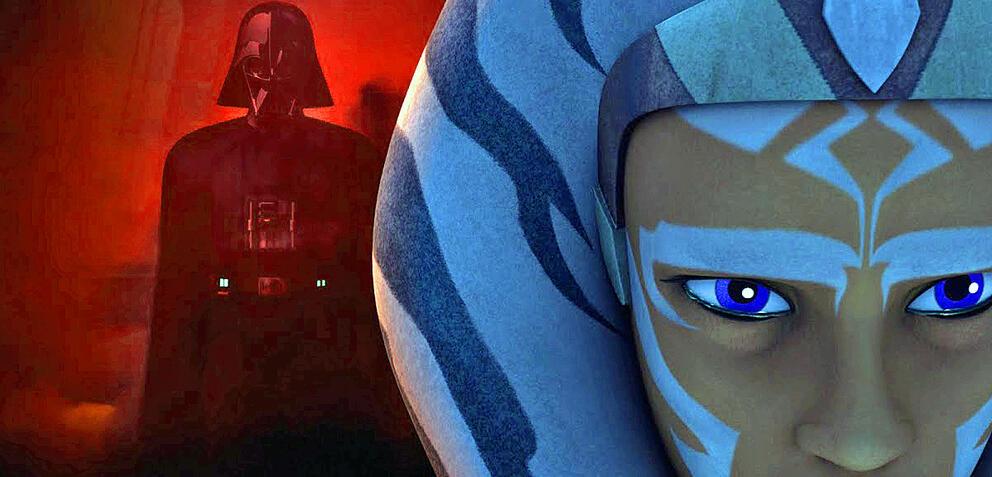Ahsoka und Darth Vader