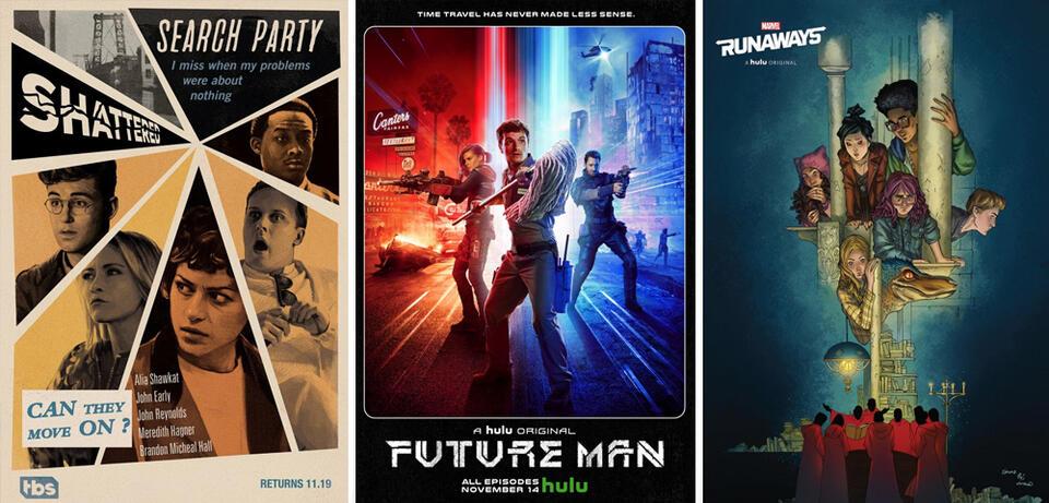 Die besten internationalen Serienstarts im November 2017