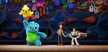 Ducky und Bunny in Toy Story 4