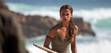 Bild zu:  Tomb Raider: Alicia Vikander als Lara Croft