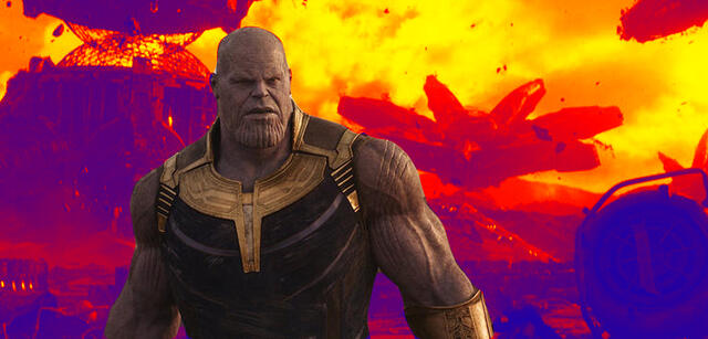 infinity war ende