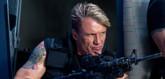 Dolph Lundgren in The Expendables 3