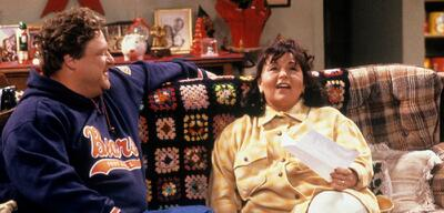 John Goodman und Roseanne Barr